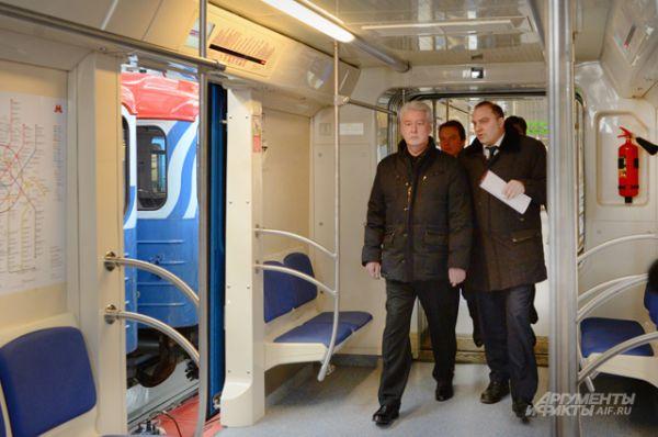 Начиная со следующего года Московский метрополитен будет получать поезда ещё более высокого класса – со сквозным проходом между вагонами.