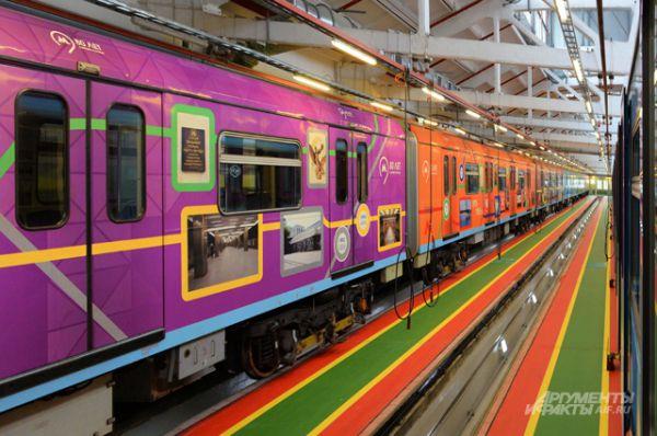 Это Кольцевая, Арбатско-Покровская, Серпуховско-Тимирязевская, Калининская, Филёвская, Люблинская,  Бутовская и Таганско-Краснопресненская линии метро.