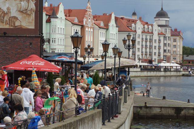 Иностранным туристам могут разрешить без виз приезжать в Калининград.