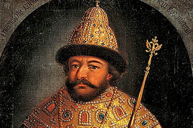 Борис Годунов. Парсуна неизвестного художника середины XVII века.