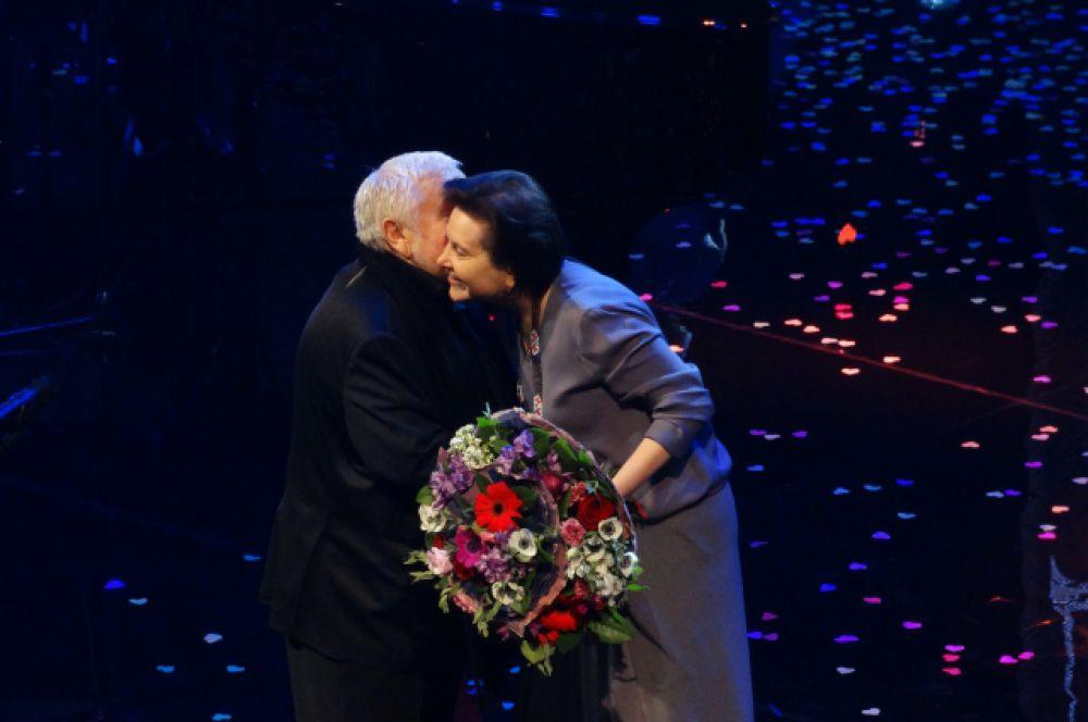 Сергей Соловьев и Наталья Комарова.