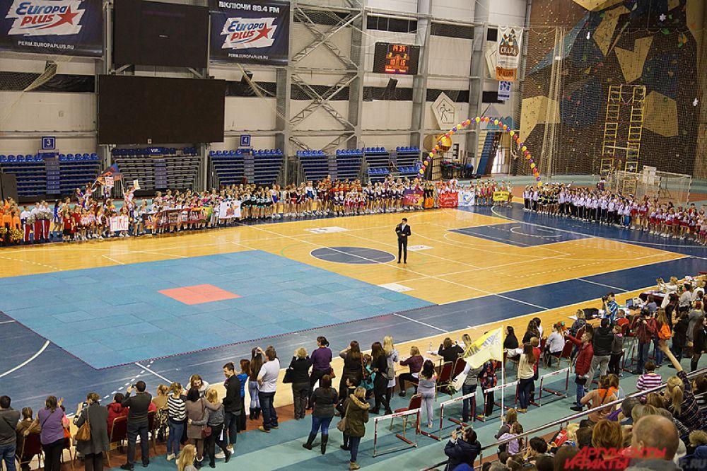 В турнире участвовало 500 человек из Москвы, Челябинска, Саратова, Перми и городов Прикамья.