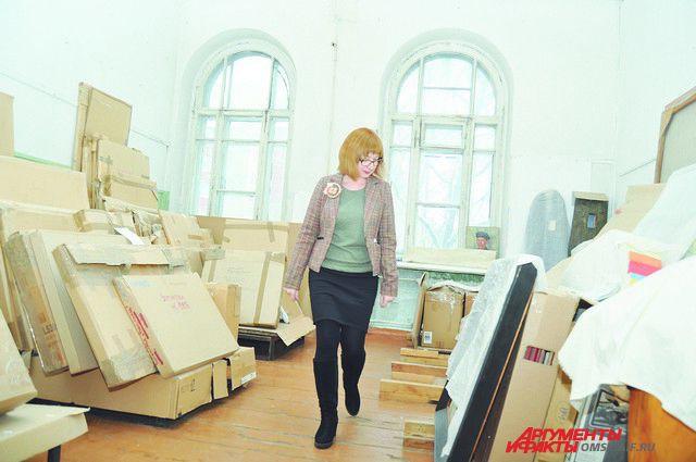 В музее хранятся тысячи экспонатов