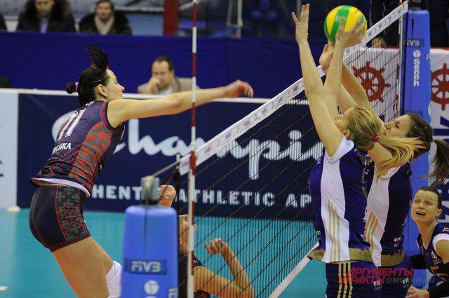 Самым результативным игроком омской команды стала Ольга Ефимова, набрав 26 очков за игру.
