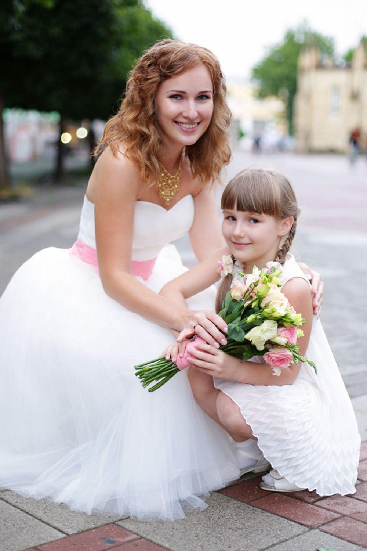 Ольга Баскакова с дочерью Ксенией.