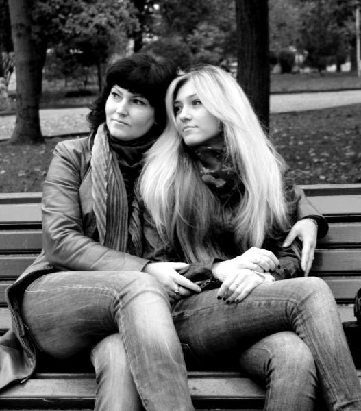 Ксения Чакирян с мамой Натальей.
