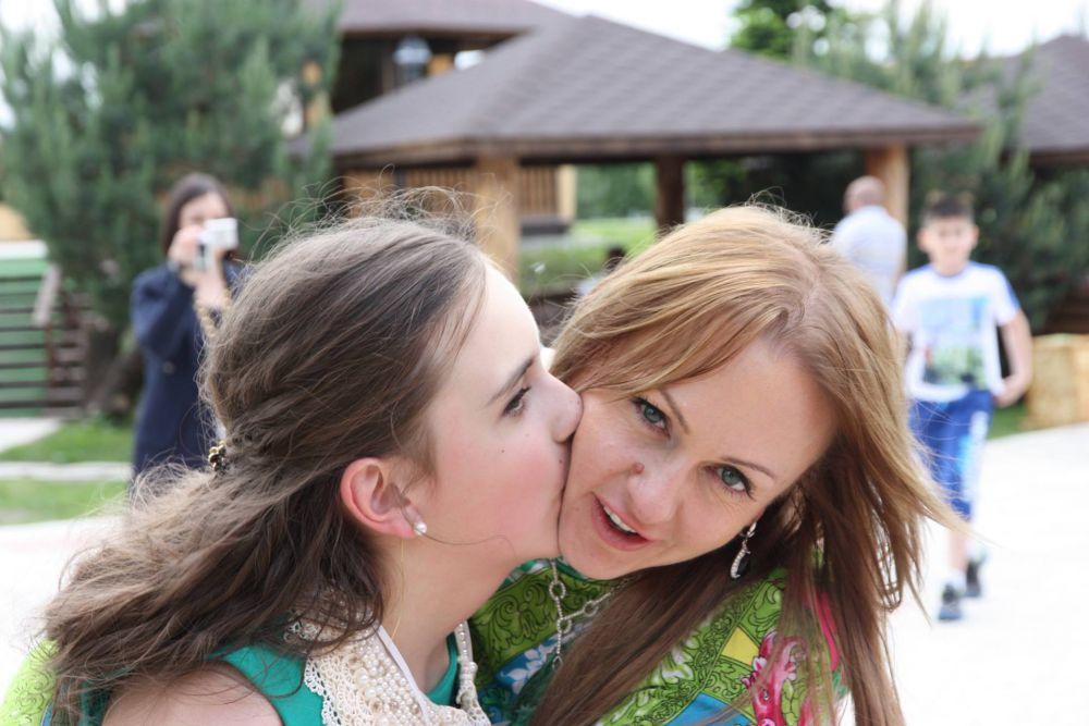 Старченко Юлия с дочерью Дарьей.