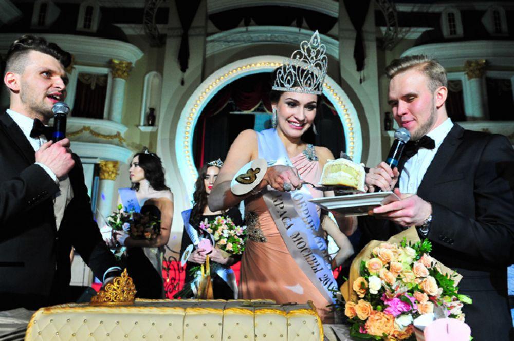 Елена Петухова, занявшая первое место в конкурсе «Мисс Краса Москвы 2016».