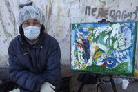Владимир надеется, что картины помогут ему вернуться к нормальной жизни.