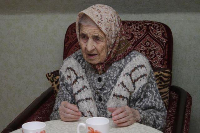 Ветеран Великой Отечественной войны Евфалия Трущева из Калининграда отметила 100-летний юбилей.