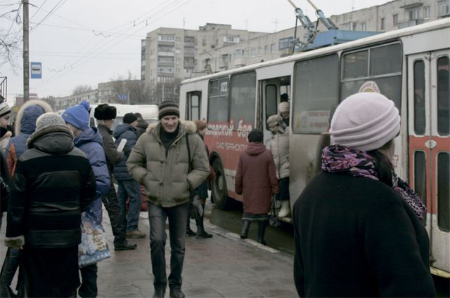 Троллейбус не довез пассажиров до места