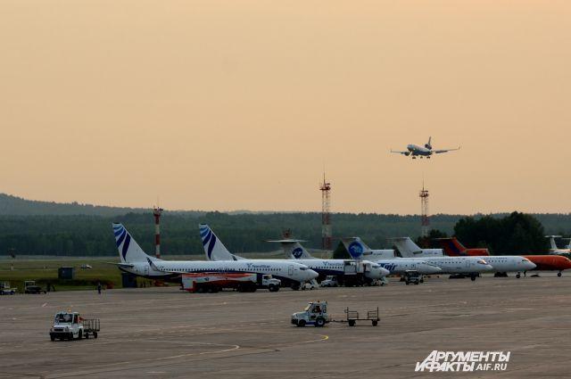 Красноярский аэропорт Емельяново.