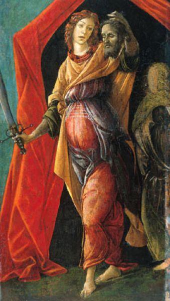 В 1490 году во Флоренции появляется доминиканский монах Джироламо Савонарола, в проповедях которого звучал призыв к покаянию и отказу от грешной жизни. Боттичелли был заворожён этими проповедями. С этих пор стиль художника резко изменяется, он становится аскетичным, гамма красок теперь сдержанная, с преобладанием тёмных тонов. Особенно заметны изменения стиля в его работе «Юдифь, покидающая палатку Олоферна» (1485—1490).