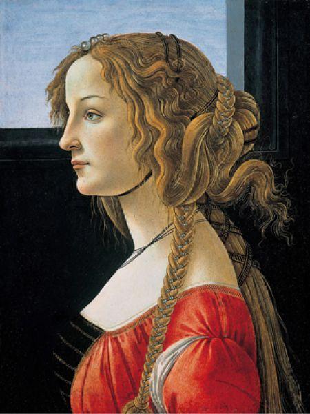 Портрет молодой женщины, 1476—1480.