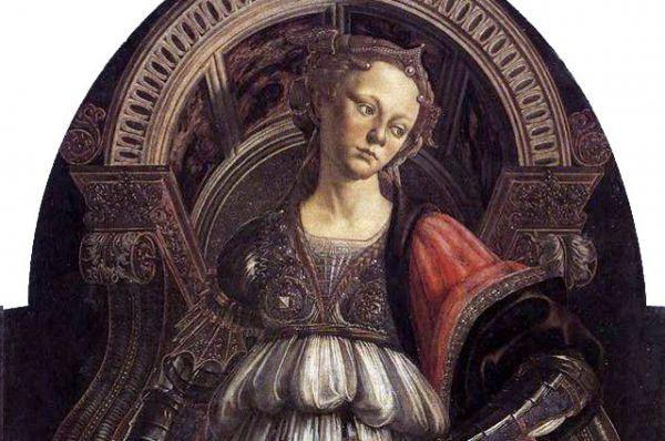 С 1470 года он имел собственную мастерскую недалеко от Церкви Всех святых. Картина «Аллегория Силы» (Fortitude), написанная в 1470 году, знаменует обретение Боттичелли собственного стиля.