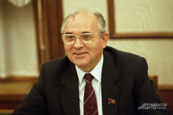 Михаил Горбачёв, 1985 год.
