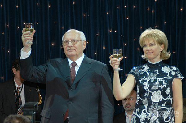 Празднование 75-летия Горбачёва, 2006 год.