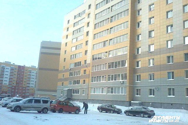 Микрорайон Радужный в селе Осиново.