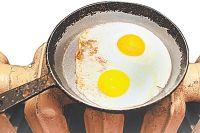 Согласно платёжке тепла дают столько, что можно яичницу поджарить.