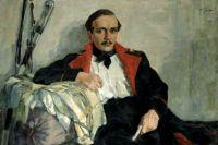 Картина Николая Ульянова «Портрет Михаила Лермонтова», 1930 год.