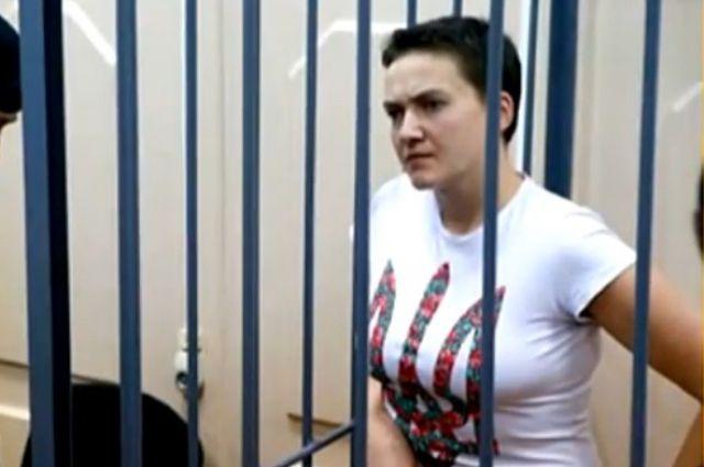 Надежда Савченко вчетверг объявила сухую голодовку