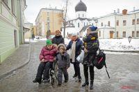 Дети-инвалиды и их родители чувствуют себя здесь защищёнными.