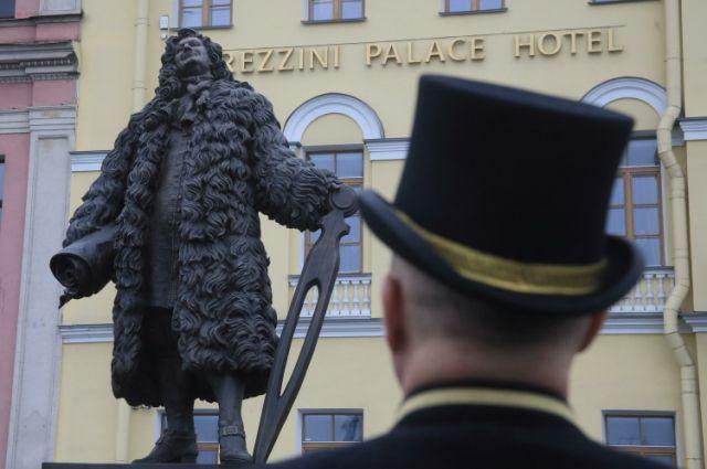 Памятник Трезини в Петербурге появился в 2014 году.