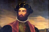 Портрет Васко да Гамы кисти Антонио Мануэля де Фонсека.