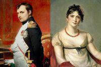Наполеон Бонапарт и Жозефина Богарне.