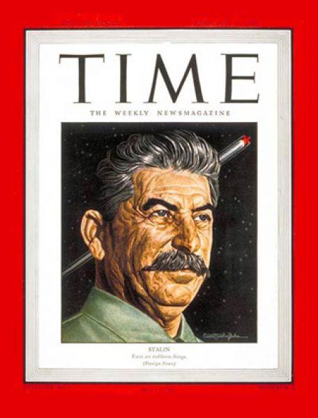 1 января 1940 года. Иосиф Сталин назван человеком года, и журнал Time выходит с его портретом на обложке.