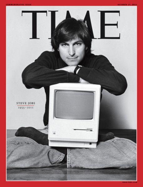 17 октября 2011 года. Номер Time, посвящённый Стиву Джобсу.