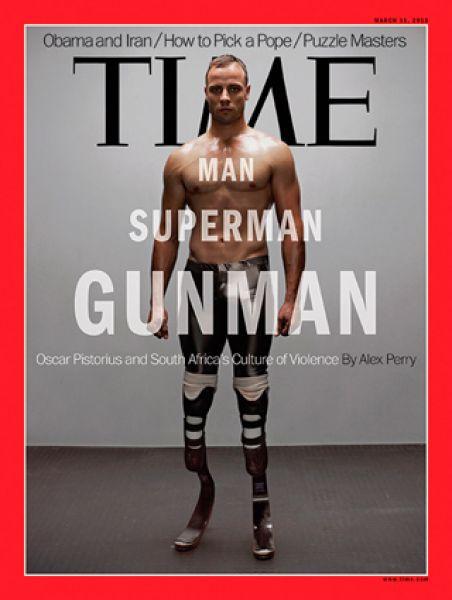 11 марта 2013 года. На обложке — параолимпийский чемпион Оскар Писториус.