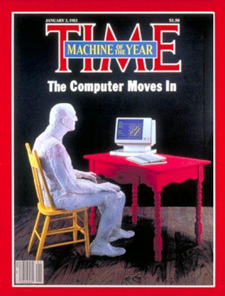 3 января 1983 года. Time называет компьютер «машиной года».