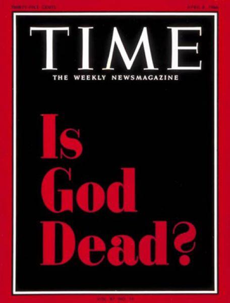 8 апреля 1966 года. Очередной номер вышел с заголовком на обложке «Бог мертв?» и был посвящён вопросам отношения к богу в разные периоды истории.