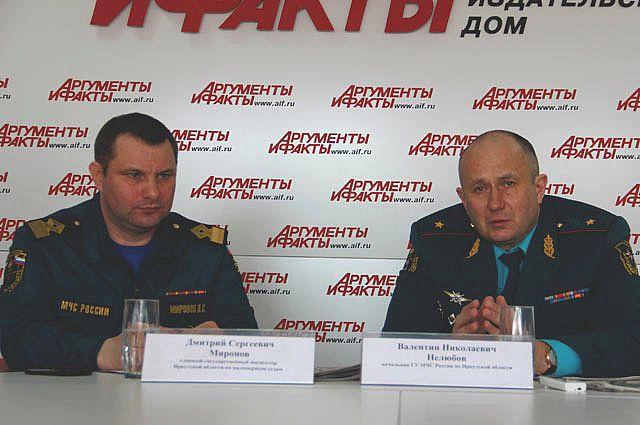 Дмитрий Миронов и Валентин Нелюбов
