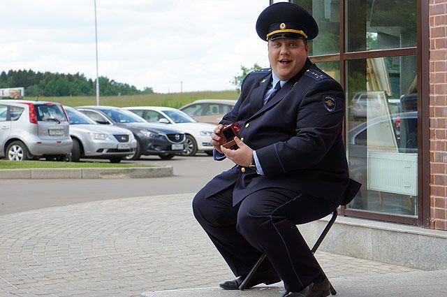 Кадр из фильма «Полицейский с Рублёвки».