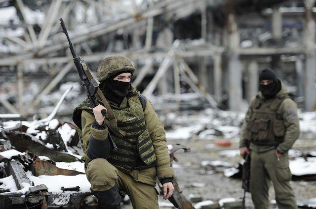 ополченцы ДНР, архивное фото