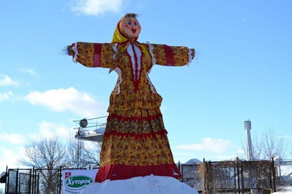 Масленица-2013 - яркая красотка.