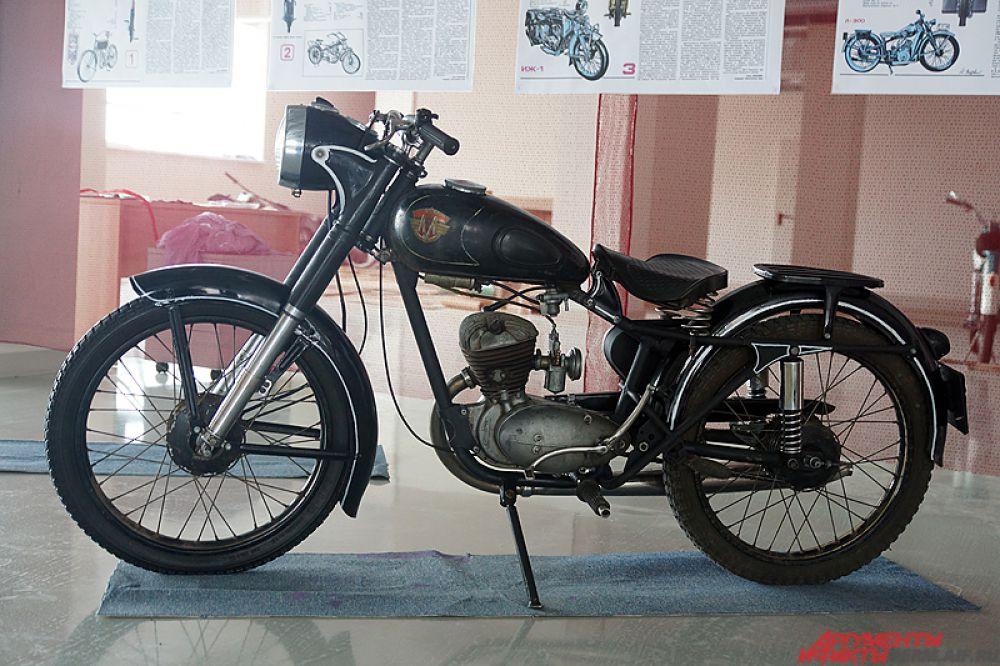 Все мотоциклы предоставлены пермскими коллекционерами.