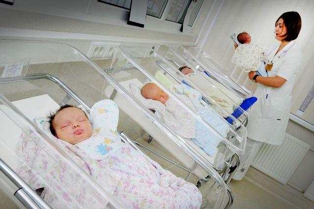 В семье родился 12 ребёнок - девочка Юстина.