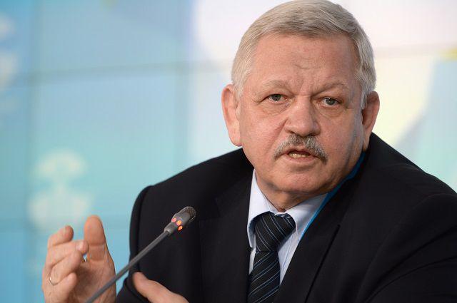 Президент ВОГ Валерий Рухледев.