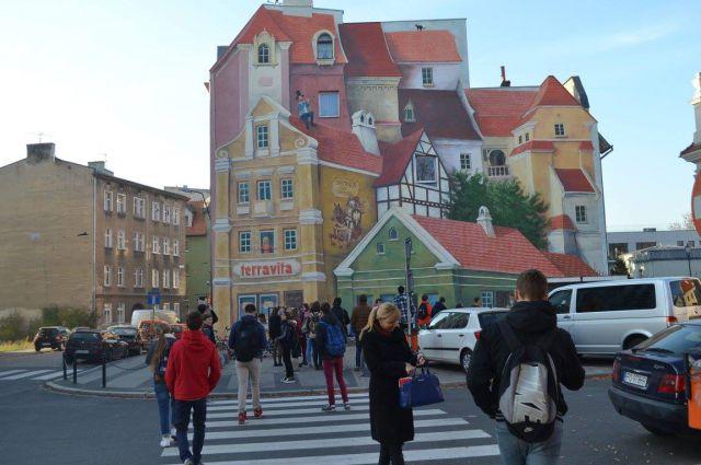 На праздники калининградцы массово отправились на шоппинг и отдых в Польшу.