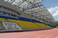 """Стадион """"Югра-Атлетикс""""."""