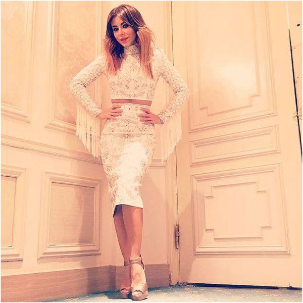 Ани Лорак получила в подарок дизайнерское платье от Алины Герман