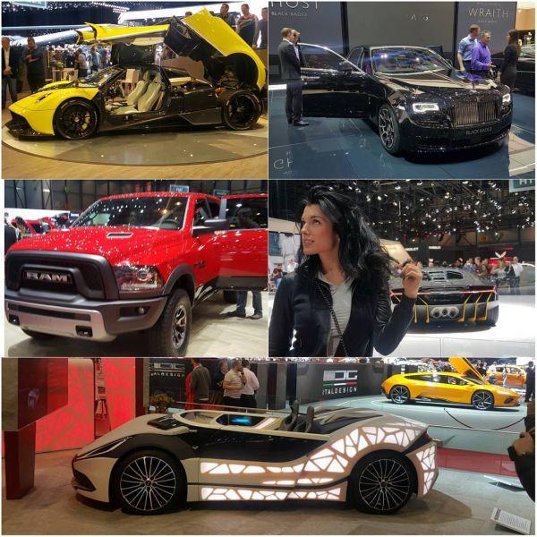 Судя по снимкам, Ольга получила от мужа автомобиль, как призналась сама певица, больше всего ей понравился красненький