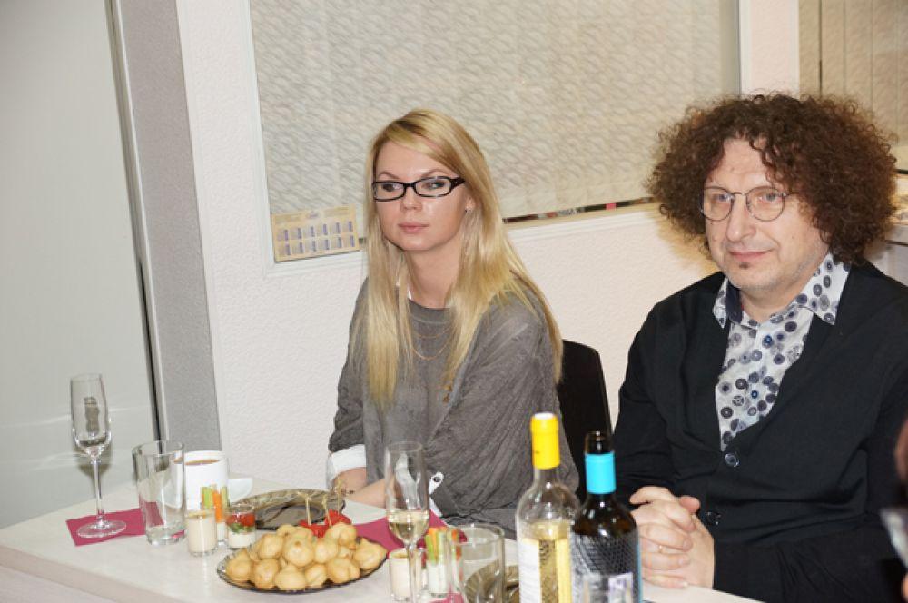 Нумеролог Лина Леонтьева, Василий Захаров, топ-стилист компании Wella