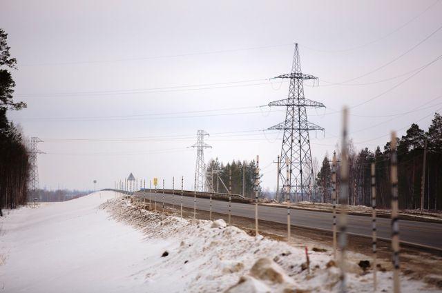 Начало моста через реку Вах.