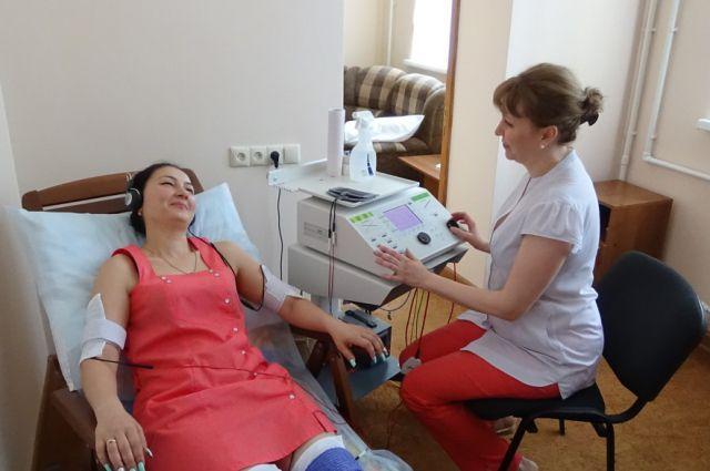 Сотрудники завода получают санаторно-курортное лечение.