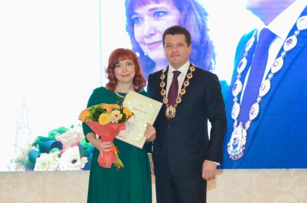 педагог-психолог школы №33 Авиастроительного района Эльмира Мифтахова (2-е место).