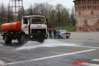 В Роспотребнадзоре считают, что на улицы Смоленска пора выпускать «поливашки».